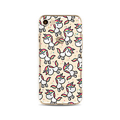 Mert Áttetsző / Minta Case Hátlap Case Állat Puha TPU AppleiPhone 7 Plus / iPhone 7 / iPhone 6s Plus/6 Plus / iPhone 6s/6 / iPhone