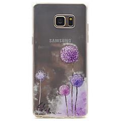 Για το Samsung Galaxy Σημείωση 5 πικραλίδα πρότυπο υψηλής διαπερατότητας tpu περίπτωση τηλέφωνο τηλέφωνο