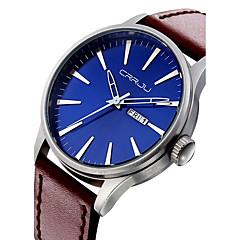 Men Watches 2016 Clock Leather Mens Watch Sport Waterproof Quartz Wristwatch Relogio Masculino Montre Homme