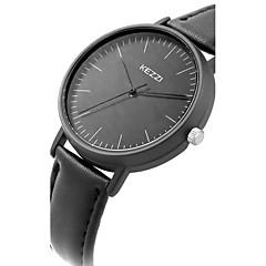 KEZZI Damskie Modny Zegarek na nadgarstek Na codzień Na codzień Kwarcowy Skóra Pasmo Z Wisorkami Nowoczesne Czarny Biały Niebieski Brązowy