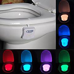 youoklight activado por movimiento de luz nocturna aseo llevó aseo baño lavadero luz
