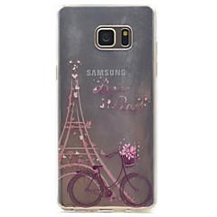 Samsung-galaksi-muistiinpanoon 5 torni kuvio korkea läpäisevyys tpu materiaali puhelinkotelo