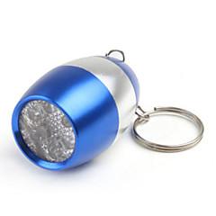 조명 열쇠고리 손전등 LED 50 루멘 1 모드 LED CR2016 작은 사이즈 캠핑/등산/동굴탐험 / 일상용 알루미늄 합금