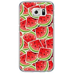 Για Εξαιρετικά λεπτή / Ημιδιαφανές tok Πίσω Κάλυμμα tok Φρούτα Μαλακή TPU Samsung S7 edge / S7 / S6 edge plus / S6 edge / S6 / S5 / S4