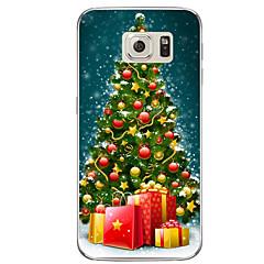 Til Samsung Galaxy s7 s7 kant julegave tpu blødt omslag s6 kant plus