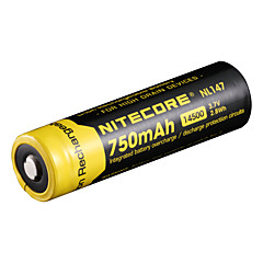 nitecore nl147 750mAh 3.7v 2.8wh 14500 μπαταρία Li-ion