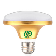 10pcs YWXLight®  E27 12W 24 SMD 5730 1000-1100 LM Warm White / Cool White UFO Lamp  AC  220-240V