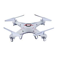 Drone FPV K5C 4 Canaux Quadrirotor RC FPV Quadrirotor RC / Télécommande / Tournevis / Protections D'Hélices / Chargeur De Batterie Blanc