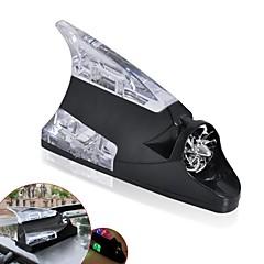 ZIQIAO Shark Fin Feature Universal Wind Power Antenna LED Car Lamp Light
