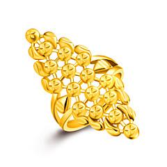 Pierścionki Non Kamień Ślub / Impreza / Codzienny / Casual Biżuteria Złoty Damskie Pierscionek 1szt,Jeden rozmiar Złoty / Srebrne