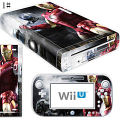 B-Skin® Decal Skin Sticker (High Gloss Coating) for Nintendo Wii U Console + Controller Device(Assorted Pattern)