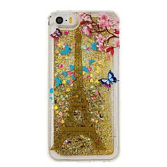 For Flydende væske / Mønster Etui Bagcover Etui Eiffeltårnet Blødt TPU for AppleiPhone 7 Plus / iPhone 7 / iPhone 6s Plus/6 Plus / iPhone