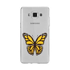 Mert Minta Case Hátlap Case Pillangó Puha TPU mert Samsung A9(2016) / A7(2016) / A5(2016) / A3(2016) / A9 / A8 / A7 / A5 / A3
