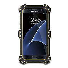 Για Νερού / Dirt / Shock Απόδειξη tok Πλήρης κάλυψη tok Μονόχρωμη Σκληρή Μεταλλικό για Samsung S7 edge / S7 / S6 edge / S6