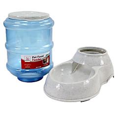 Gatto / Cane Mangiatoie Animali domestici Ciotole e alimentazione Ompermeabile / Casual Bianco Plastica