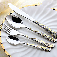 1 Sets(4Pcs) Slap-Up Western Restaurant The Kitchen Utensils Stainless Steel 304 Children knives And Forks