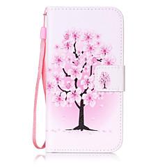 Για Πορτοφόλι / Θήκη καρτών / Ανοιγόμενη / Με σχέδια tok Πλήρης κάλυψη tok Δέντρο Σκληρή Συνθετικό δέρμα για SamsungS7 edge / S7 / S6