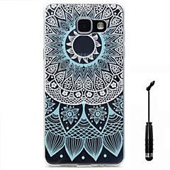 For Samsung Galaxy A5(2016) A3(2016) Case Cover Wind Chimes Pattern Super Soft Painting High Permeability TPU Material Phone Case  Touch Screen Pen