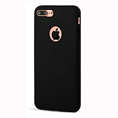 For iPhone 7 etui iPhone 6 etui iPhone 5 etui Stødsikker Etui Bagcover Etui Helfarve Blødt TPU for AppleiPhone 7 Plus iPhone 7 iPhone 6s
