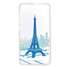 For Wiko Lenny 3 Case Cover Eiffel Tower Pattern Back Cover Soft TPU Lenny 3 Sunset 2