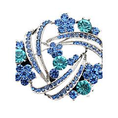 Kadın Broşlar Kristal kostüm takısı Simüle Elmas Mücevher Uyumluluk Düğün Parti Günlük