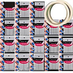 18 modello differente strumento modellistica nail art dare 2pcs nail nastro adesivo arte