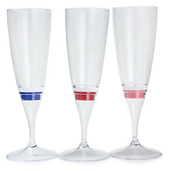 1pc Colormix geleid champagne glazen beker beker leidde 's nachts licht voor feest / bruiloft / feest / ktv / home / bar