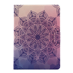 Per Con supporto / Con chiusura magnetica Custodia Integrale Custodia Fiori Mandala Morbido Similpelle per AppleiPad Air 2 / iPad Air /