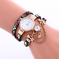 Women's Bracelet Watch Quartz Leather Band Black Blue Grey Brand