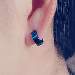 Fashion Titanium Stud Earrings  Daily / Casual  1 pc
