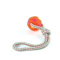 Hunde Kæledyrslegetøj Tandrensende legetøj Reb Multifarve Gummi
