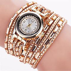 Women's Fashion Watch Wrist watch Bracelet Watch Quartz Luminous Punk Colorful PU BandVintage Sparkle Candy color Bohemian Charm Bangle
