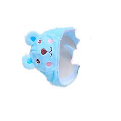 Perros Accesorios de Pelo Azul Ropa para Perro Primavera/Otoño Un Color Adorable