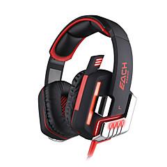 KOTION MINDEN G8200 Fejhallgatók (fejpánt)ForSzámítógépWithHangerő szabályozás / Játszás / Sport