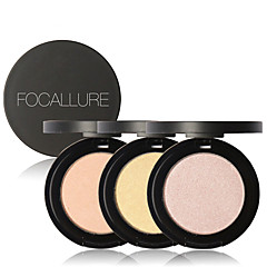 1 Highlighters & Bronzers Droog / Glinstering / Mineraal PoederGekleurde Lipgloss / Lipgloss / Witter Maken / Langdurig / Concealer /