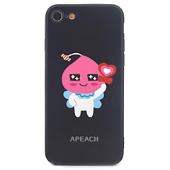 For iPhone 7 7Plus 6S 6plus Case Cover Cartoon Image Pattern Painting TPU Frame Acrylic Material