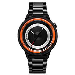 Herr Par Unisex Sportsklocka Militärklocka Modeklocka Armbandsur Unik Creative Watch Quartz Japansk kvartsur VattenavvisandeRostfritt