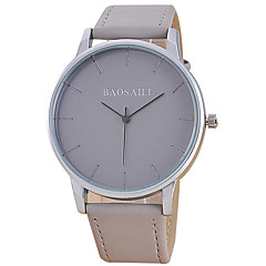 Men's Fashion Wrist Casual Quartz Watch Simple Business Round Alloy Dial Watch Cool Watch Unqiue Watch