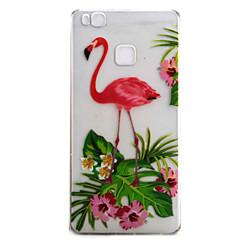 A huawei p9 p9 lite burkolat fedélzetén flamingó minta nagy áteresztőképességű festés tpu anyag telefon tok