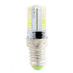 4W E14 Lâmpadas Espiga T 80 SMD 3014 400 lm Branco Quente / Branco Frio Regulável AC 220-240 V