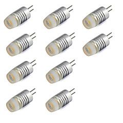 G4 LED Mini Crystal Spotlight 1.5W Chip for Home Chandlier 120 lm Warm White / Cool White DC 12V (10 Piece)