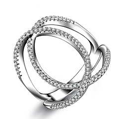 Anéis Casamento / Festa / Casual / Esportes Jóias Feminino Anéis Meio Dedo / Anéis Grossos / Anel / Anéis para Falanges / Anel de noivado