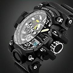 Herren Kinder Sportuhr Militäruhr Smart Uhr Modeuhr Armbanduhr Quartz Kalender Wasserdicht Alarm leuchtend Stopuhr Nachts leuchtend