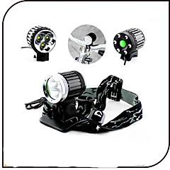 Luci bici Luce frontale per bici Luce posteriore per bici LED Cree XM-L T6 CiclismoImpermeabili Ricaricabile Resistente agli urti Facile
