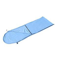 Saco de dormir Retangular Solteiro (L150 cm x C200 cm) -15-20 Algodão T/C Penas de Pato 300g 185X75Equitação Campismo Viajar Caça
