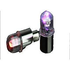 Coloful Lámpara rueda del LED para el coche de la motocicleta de la bicicleta