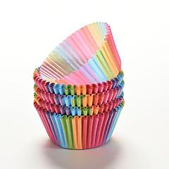 6.8cm*5cm*3.2cm Opbergbakjes voor Cupcake / voor Pie / Budding Papier Doe-het-zelf / Hoge kwaliteit / Milieuvriendelijk