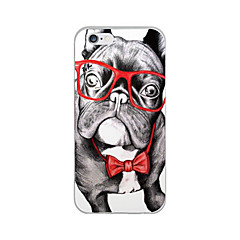 For iPhone 6 Case / iPhone 6 Plus Case Ultra-thin / Pattern Case Back Cover Case Dog Soft TPU iPhone 6s Plus/6 Plus / iPhone 6s/6