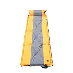 Breathability Camping Pad Yellow Camping Nylon