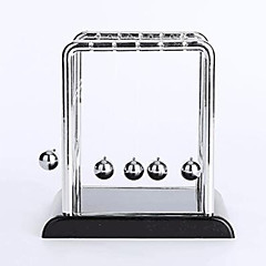 Toys For Boys Discovery Toys Newton Cradle Balance Balls Square Plastic StainlessSteel
